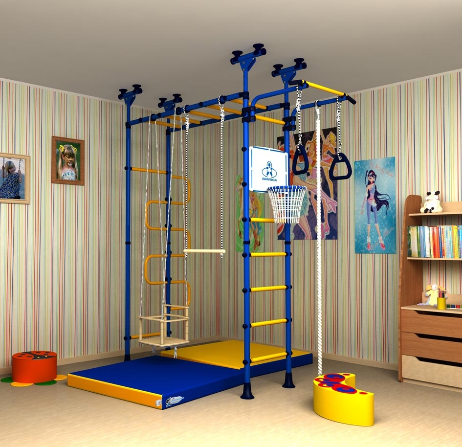 Детский комплекс в квартире своими руками 195