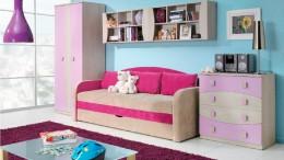 Детский диван-кровать с бортиками — грамотная организация спального места вашего малыша