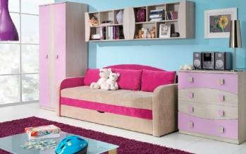 диван с бортиками в детскую комнату