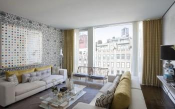 дизайн с итль штор для гостиной в современном мире