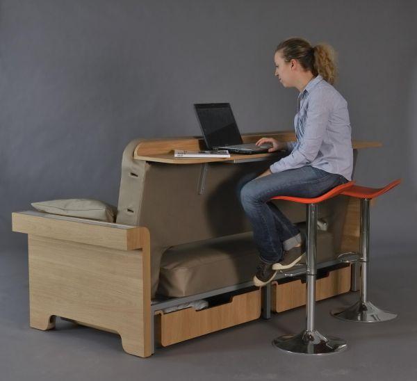 Многофункциональная мебель от Фанни Адамс