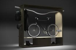 Интересные, функциональные настенные держатели для велосипеда