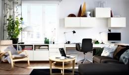 Модульная мебель для гостиной ИКЕА — практичность плюс разнообразие