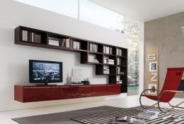 Миниатюрные стенки-горки в гостиную — возможны любые решения