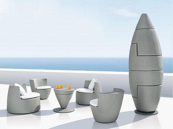 Дизайнерская компакная мебель Обелиск