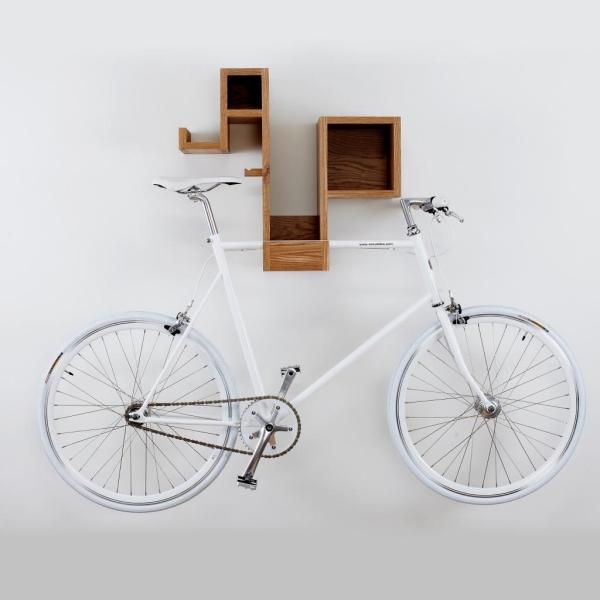 Держатель для велосипеда который экономит место