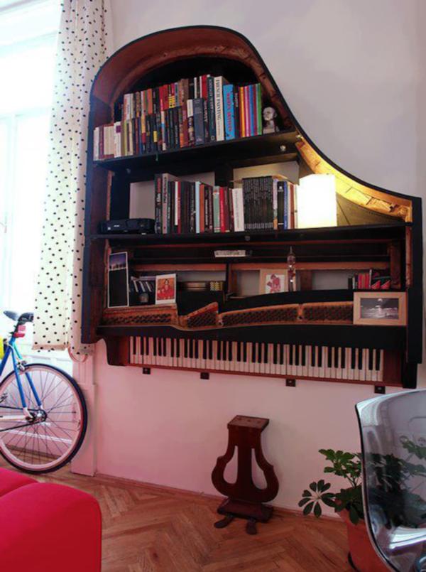 Что можно сделать из старого пианино