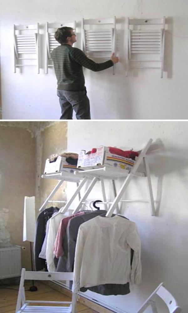 Что можно сделать из старых деревянных стульев