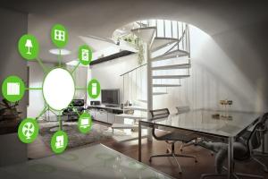 Сочитание технологии умный дом и интернет соединения с домашними вещами