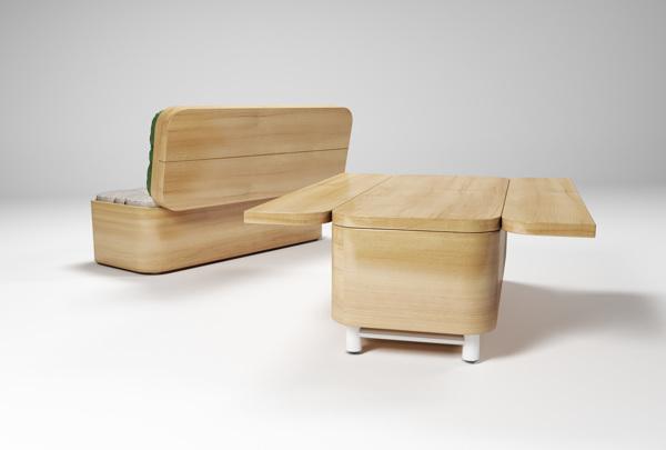 Софа котороая превращается в стол и наоборот