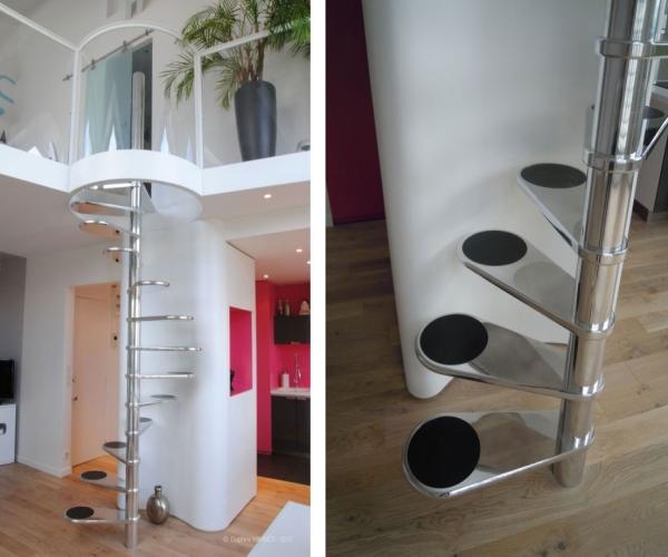 Спиральные лиестницы которые занимают минимум пространства