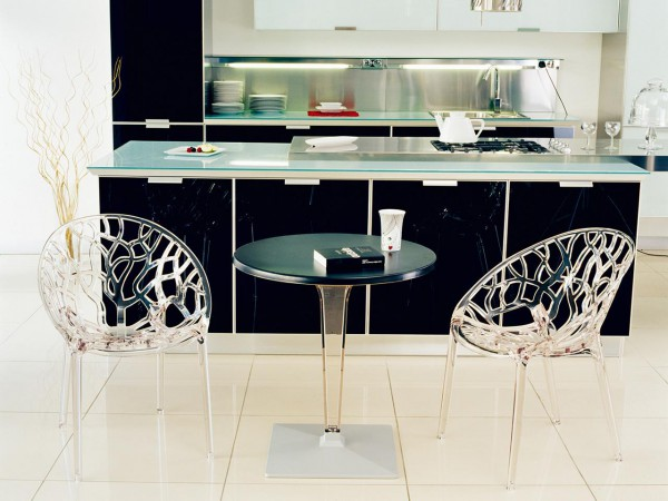 стеклянная мебель - тренд 2015 года
