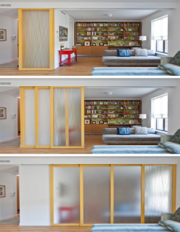Двигающиеся стены для увеличения пространства в малогабаритной квартире