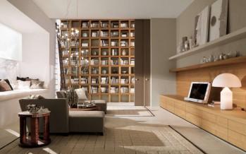 стенка в гостиную в современном стиле красивая