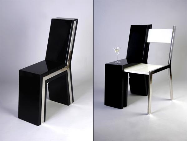 Два стула в одном для экономии пространства