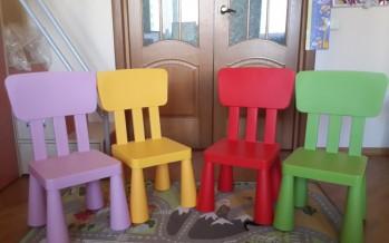 стулья в детскую от икеа
