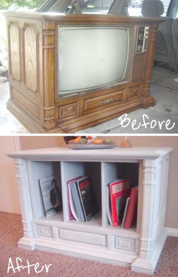 Предметы интерьера из старого телевизора
