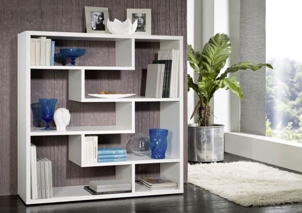 Современный стеллаж для книг для гостиной