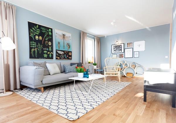 Фото дизайна гостиной в скандинавском стиле
