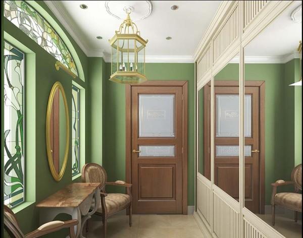 Фото коридора в английском стиле