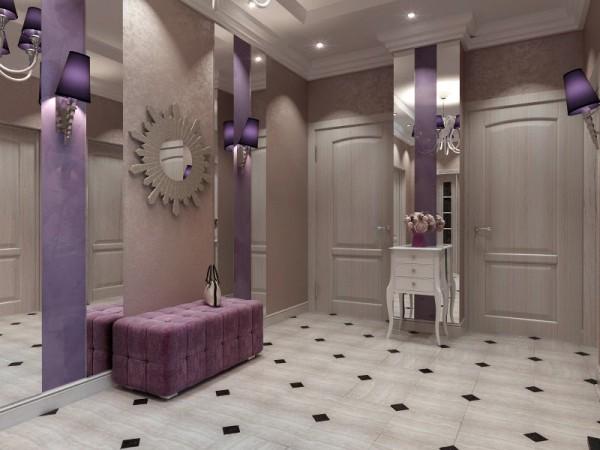 Фото коридора в стиле арт-деко