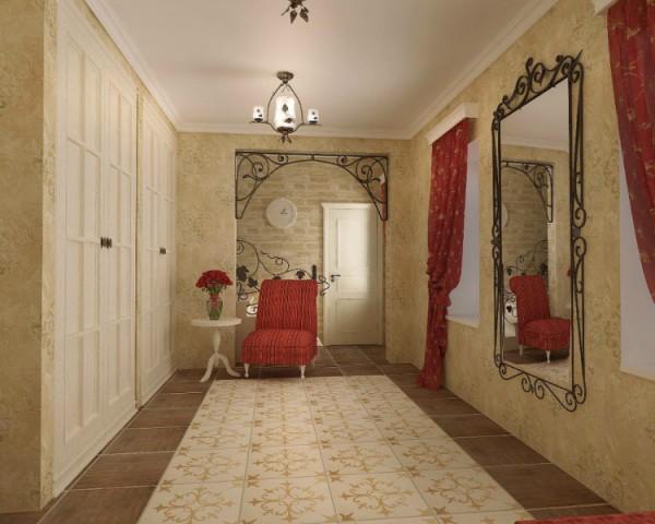 Фото коридора в стиле прованс