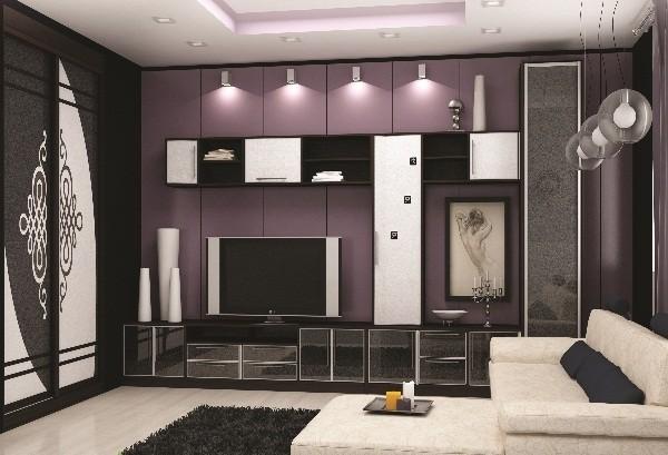 Фото модульной гостиной от Роникон в комнате