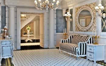 Фото прихожей в стиле прованс в квартире или доме