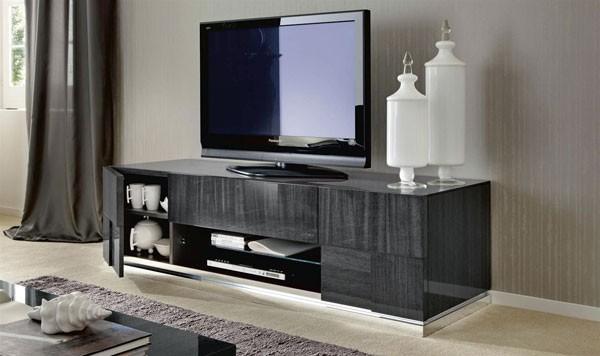Фото тумбы под телевизор в современном стиле производства Италии