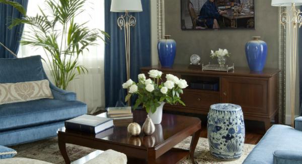 Фото вазы в интерьере гостиной