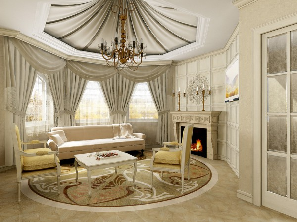 Люстра для гостиной в классическом стиле