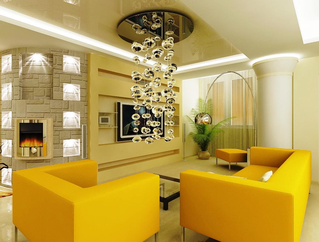Дизайн люстры для зала фото
