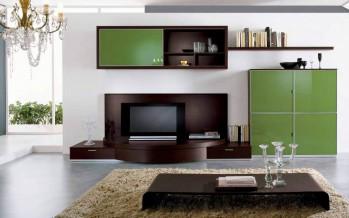Модульная мебель для гостиной в интерьере ольшой комнаты