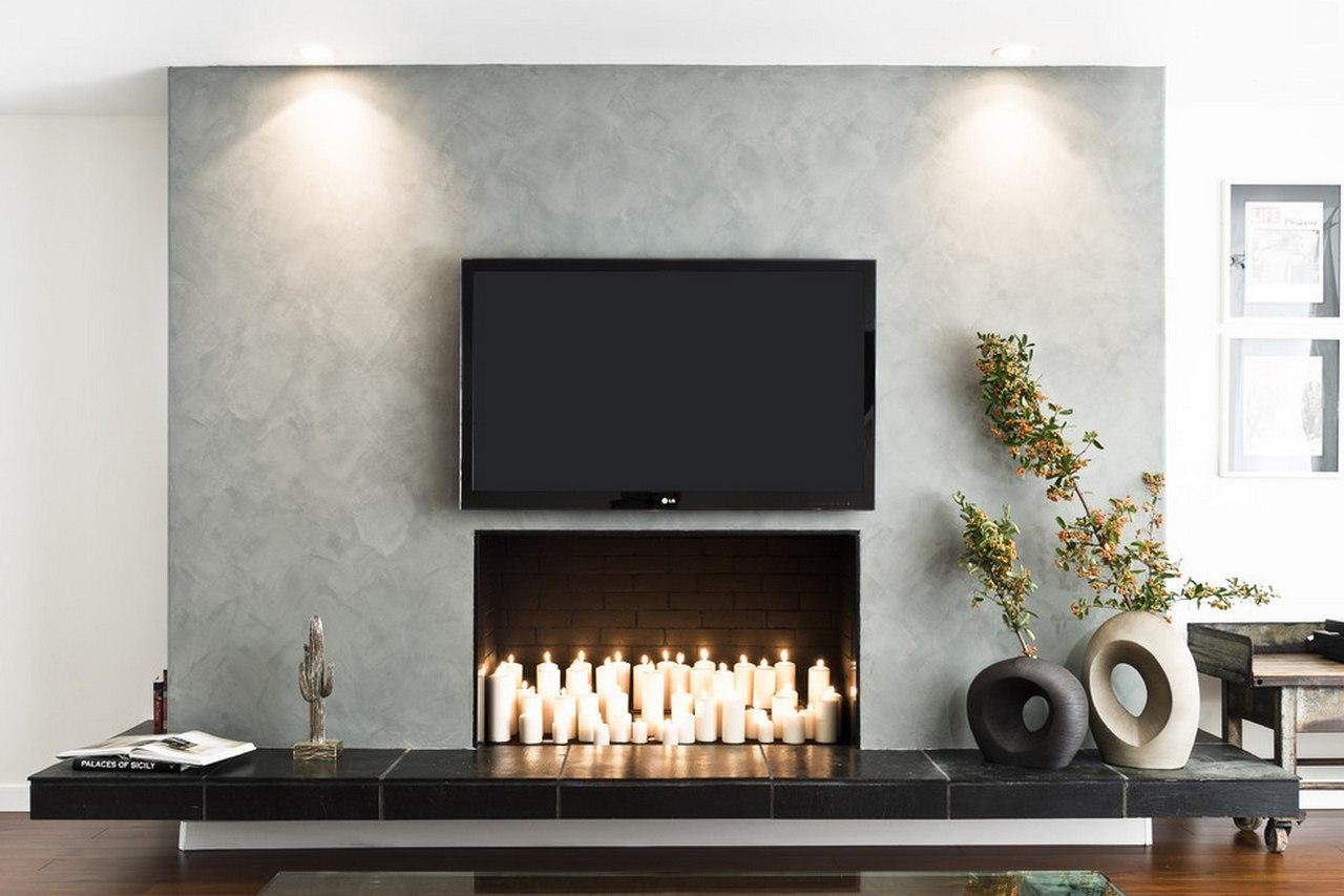 Фальш-камины в интерьере гостиной: полезные фото, преимущества, недостатки и особенности монтажа