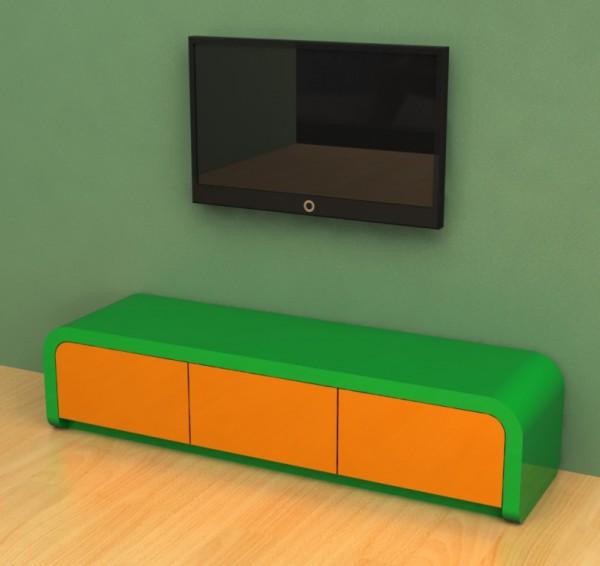 Современная ТВ-тумба в стиле модерн