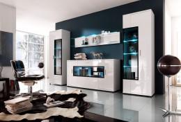 Модульные стенки для гостиной — современное и удобное решение