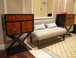 Мягкие банкетки в прихожей – приятное и красивое дополнение интерьера