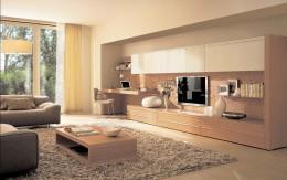 Деревянные тумбы под телевизор: от классики и рокайля до минимализма и фьюжн