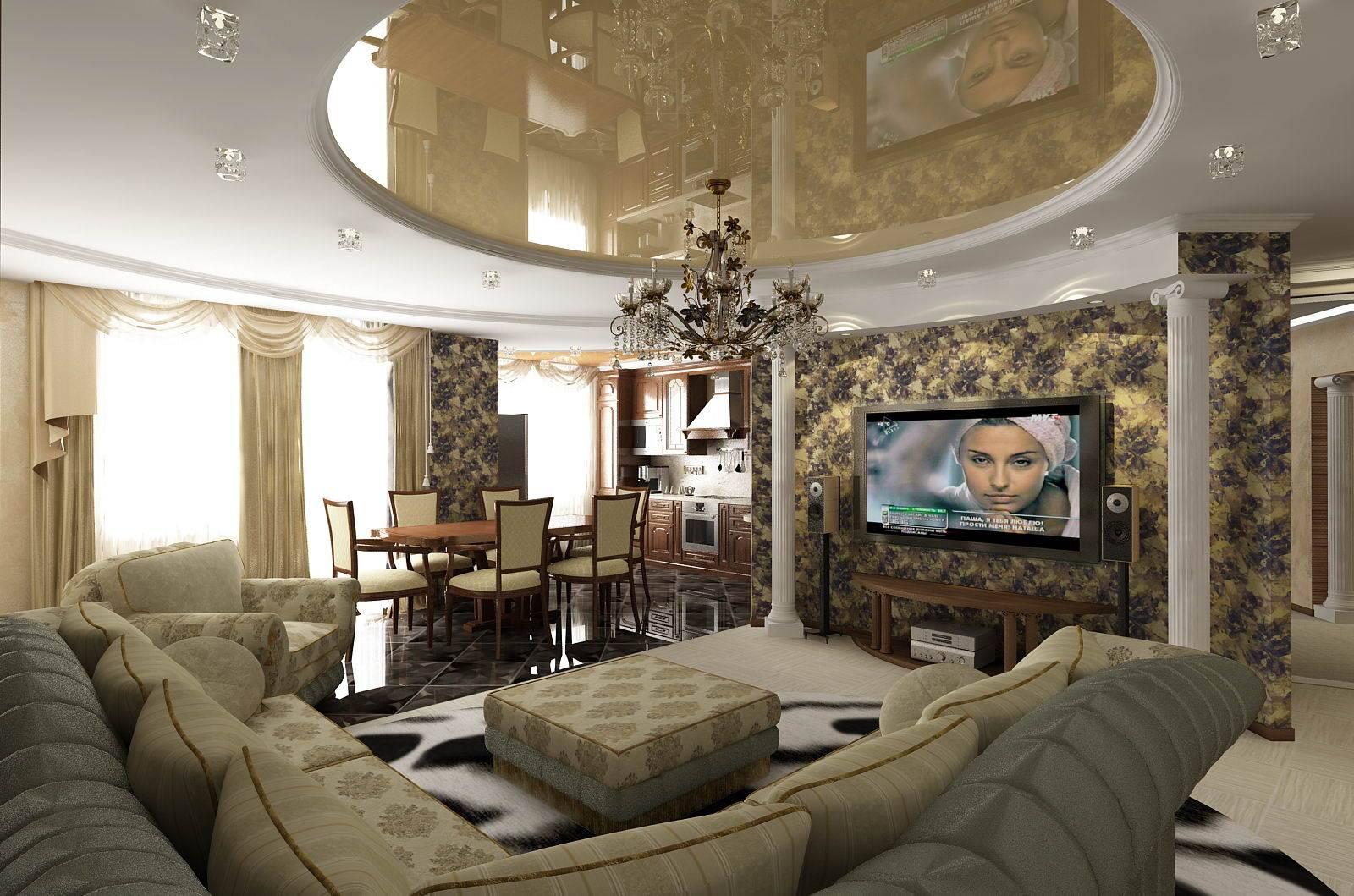 Классический стиль в интерьере современной гостиной: приемы оформления и выбор мебели
