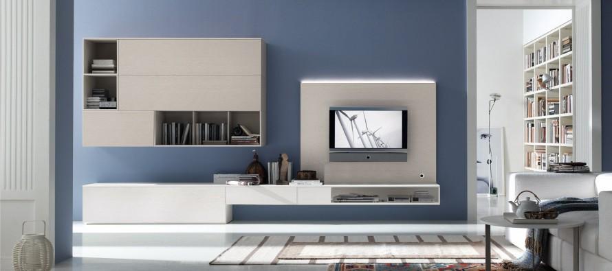гостиная в современном стиле дизайна хай тек