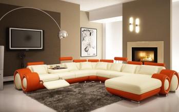 фото уникальных картин в интерьере гостиной