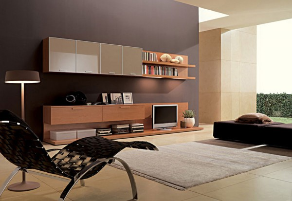 мебель под телевизор интерьер фото