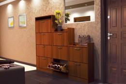 Обувницы, тумбы, шкафы и другая мебель для хранения сапог и туфель в прихожей