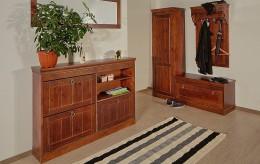 Полка для обуви из дерева — преимущества и особенности подобной мебели