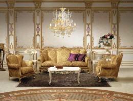 Сходства и различия стилей барокко и рококо: фотографии роскошных гостиных и полезные советы с практическими рекомендациями по оформлению зала