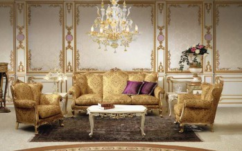 шикарные гостиные в стиле барокко и рококо
