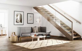 скандинавский стиль как основа оформления современной гостиной