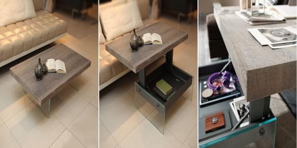 Журнальный столик в стиле минимализма