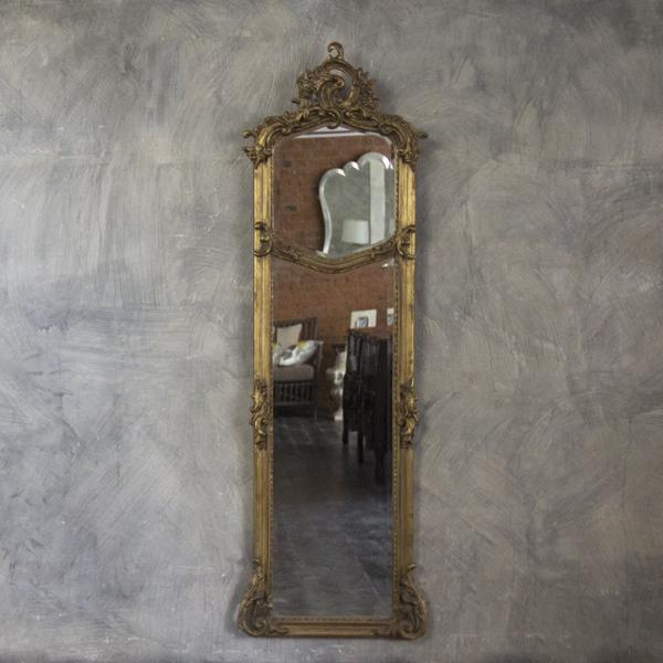 Фото узкого зеркала в прихожую
