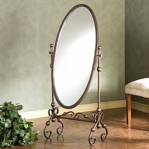 Поворотное зеркало в прихожую
